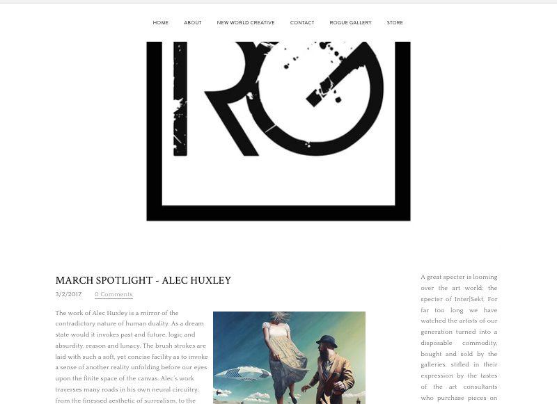 Rogue Gallery Spotlight