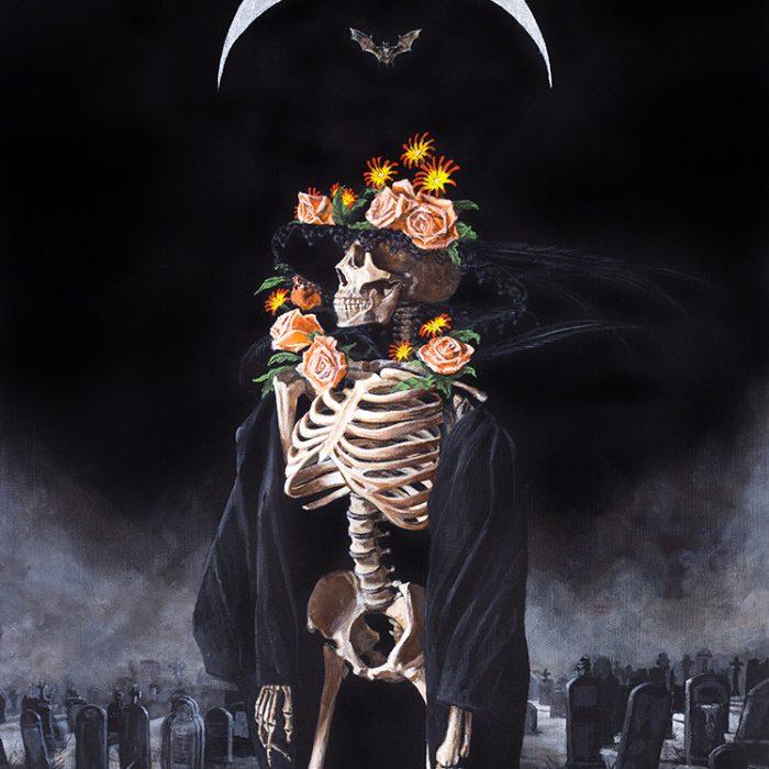 Sueño De Una Noche Lunes En El Cementerio