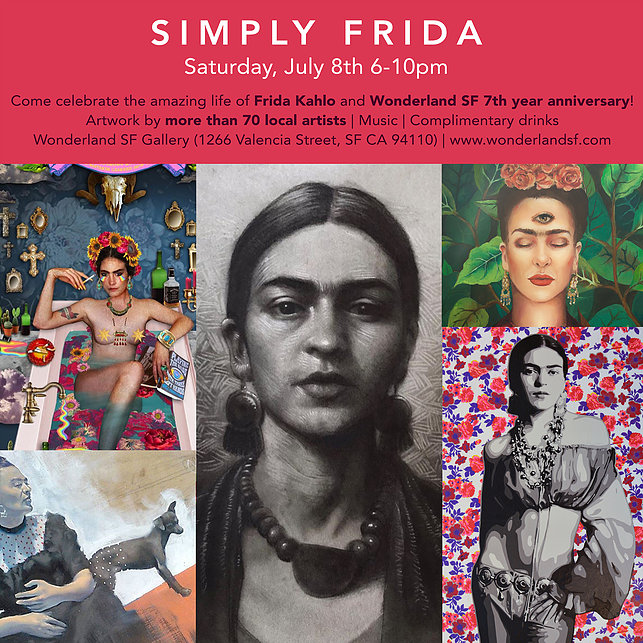 'My Own Skin' for Simply Frida at Wonderland SF