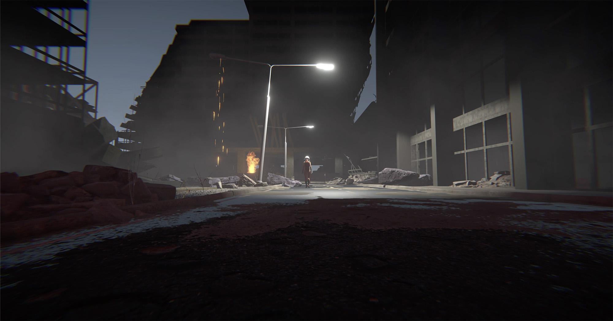 In Between Blasts
